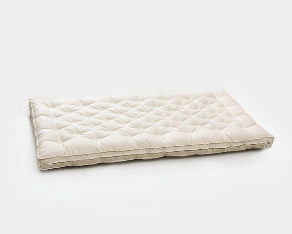 Cottoned crib mattress - stuffing detail